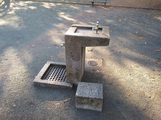 綱島公園水飲み場