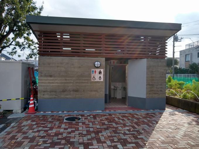 綱島東2丁目公園トイレ