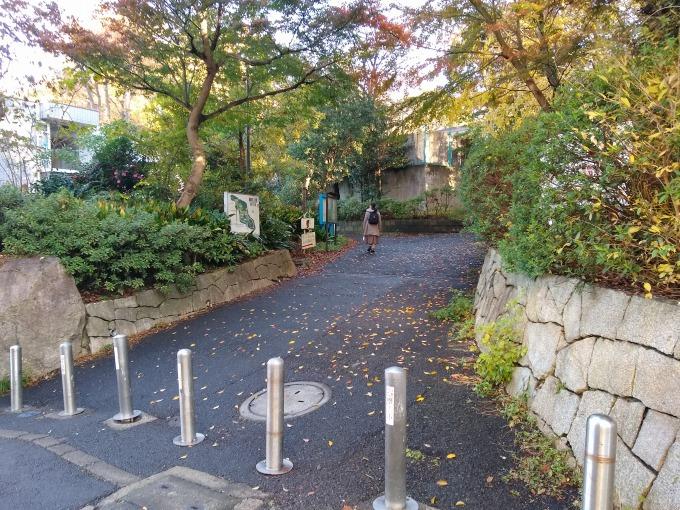 綱島公園中央口入口