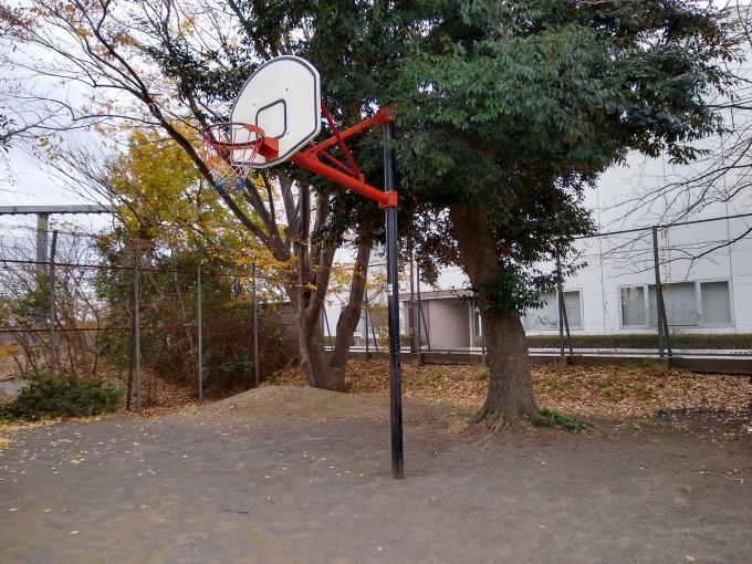 親和会子供の遊び場 バスケットゴール