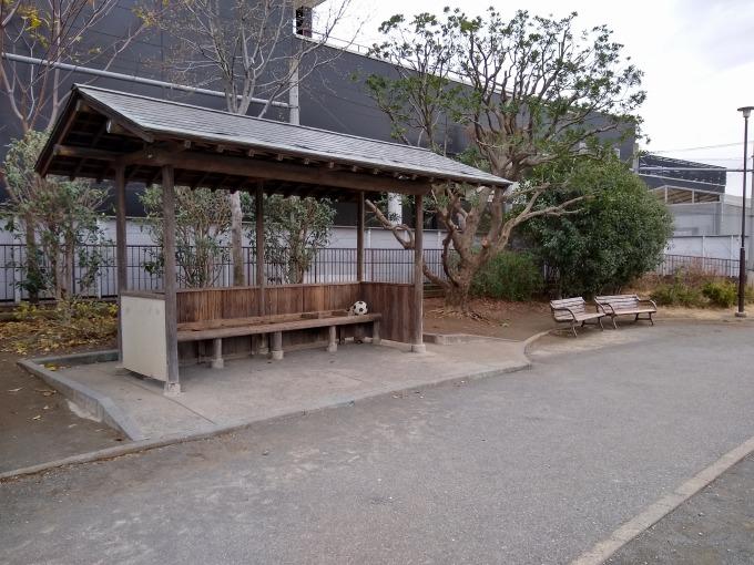 樽町しょうぶ公園ベンチ