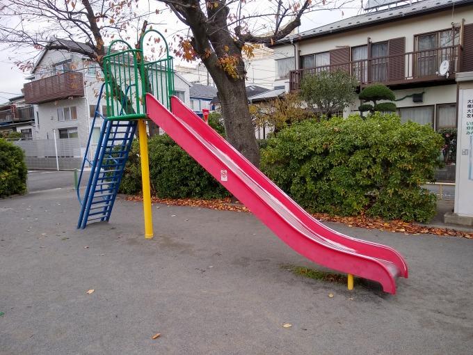 大曽根北公園滑り台