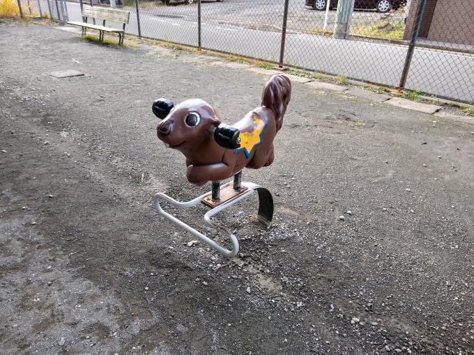 綱島東町自治会子供の遊び場 遊具