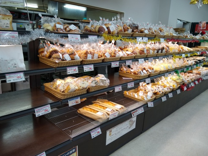 OKストア日吉店ベーカリーコーナー