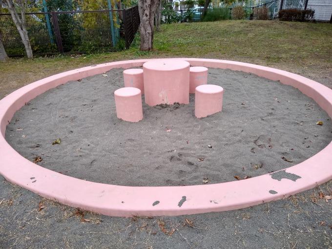 綱島ヒコーキ公園砂場