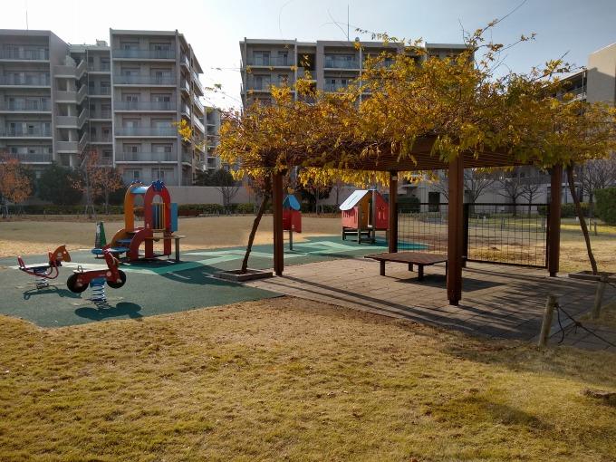 グリーンサラウンドシティ公開空地の公園