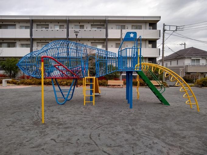 綱島ヒコーキ公園遊具