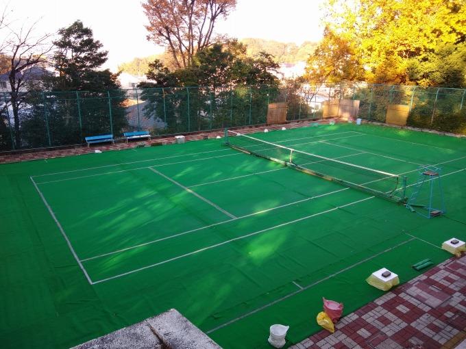綱島公園テニスコート