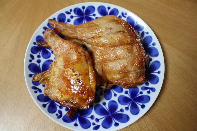 綱島丸芳牛肉店のローストチキン