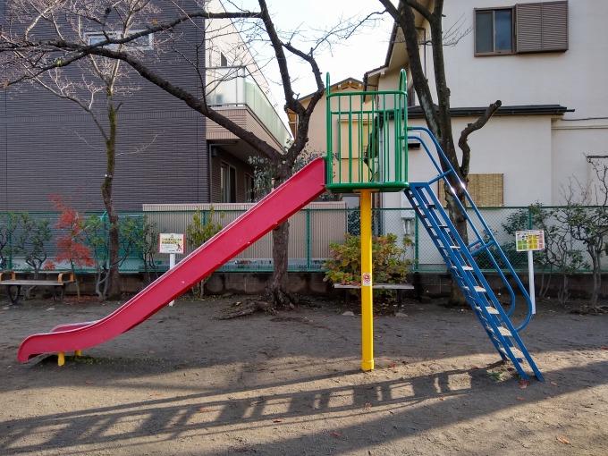綱島東前公園 滑り台