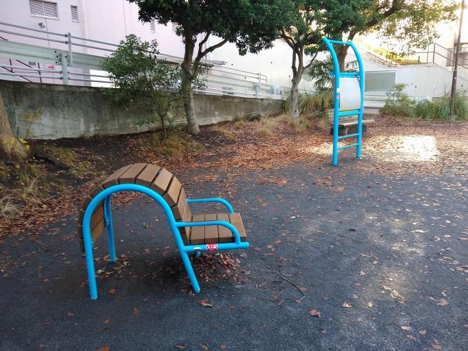 綱島台公園健康遊具
