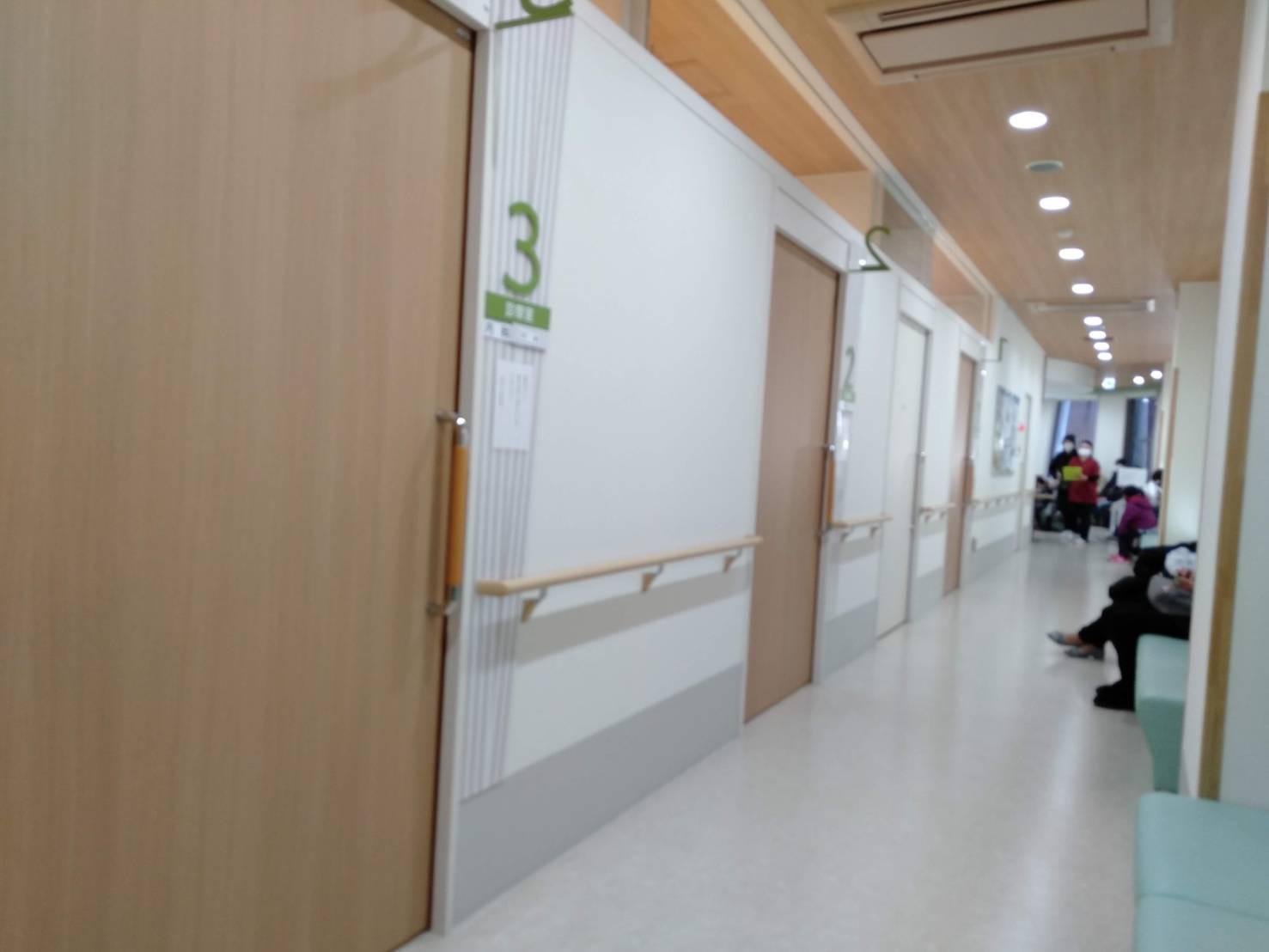 港北区休日急患診療所診察室