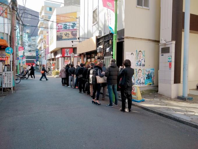 綱島ラーメン琥珀のオープン当日