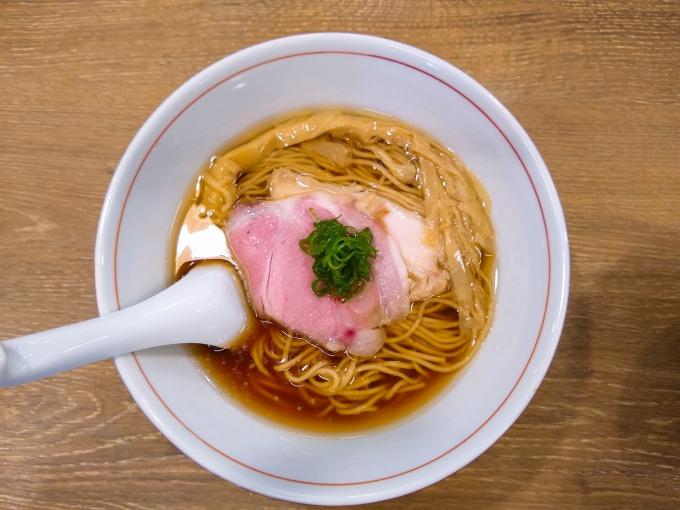綱島麺処琥珀のらぁ麺