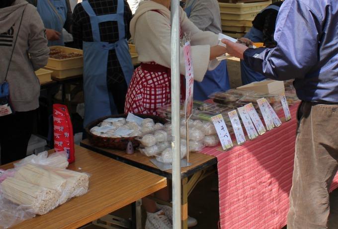 綱島公園桜まつり出店(おもち)
