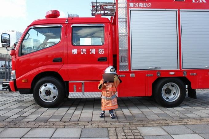横浜出初式着衣体験
