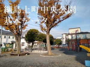 綱島上町中央公園の遊具など基本情報