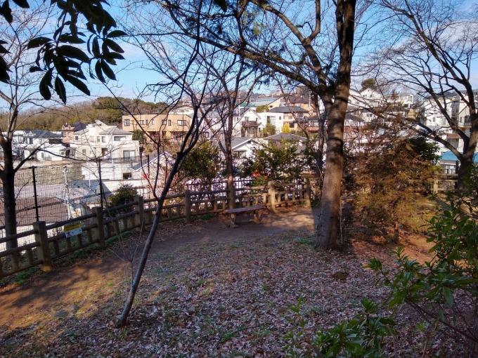 綱島公園展望スペース