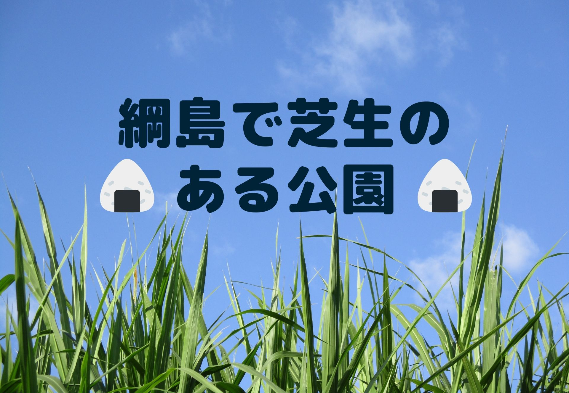 綱島で芝生のある公園は?