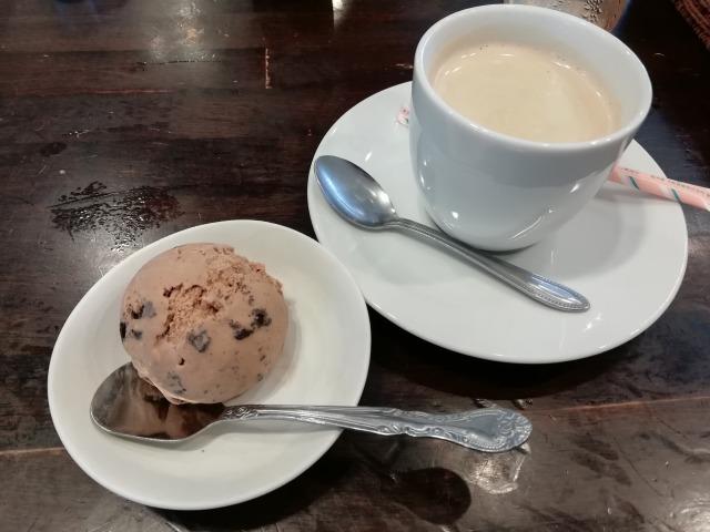 綱島らっきょのデザート&コーヒー