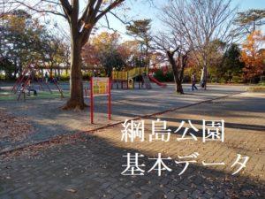 綱島公園の遊具など基本情報