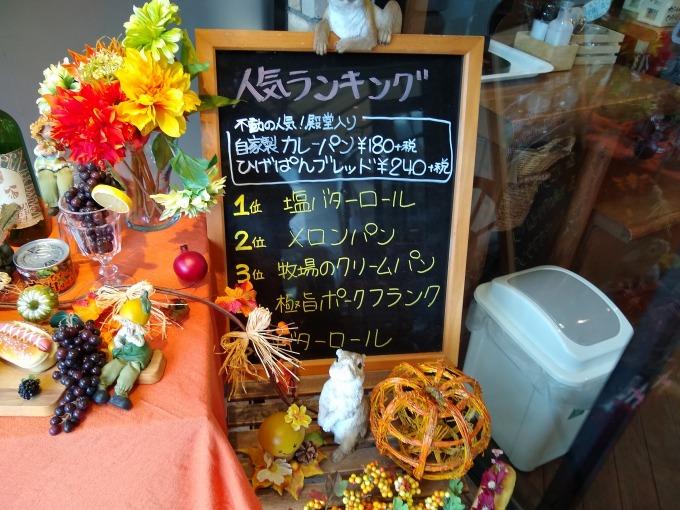 ひげのパン屋人気ランキング