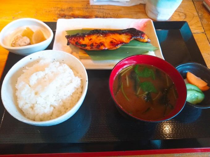 一粋の西京焼きランチ