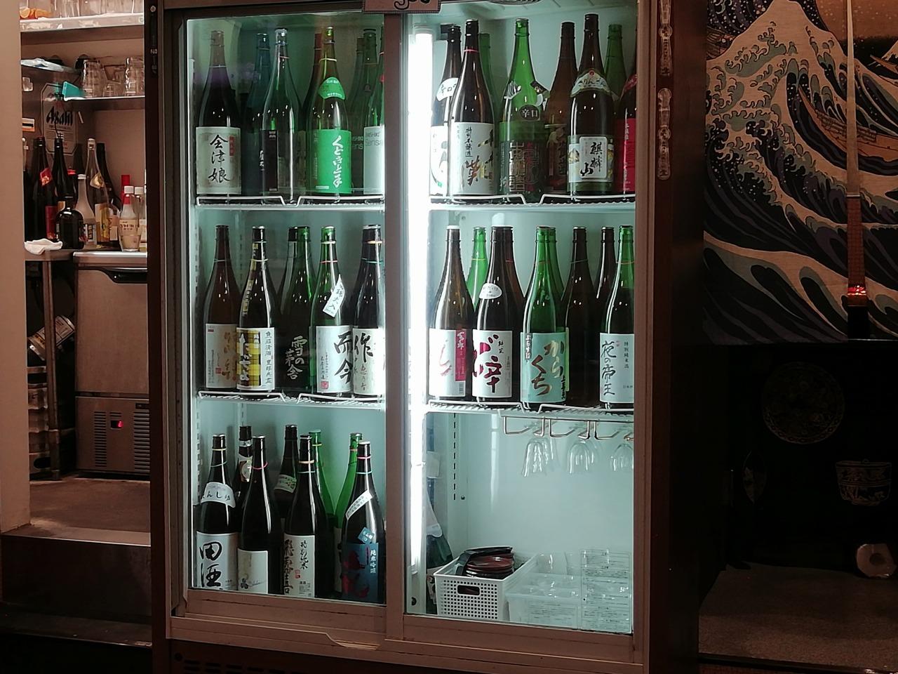 綱島上ル食堂の日本酒