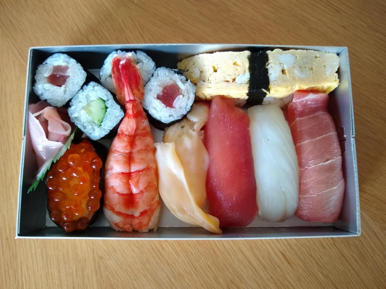栄寿司持ち帰り