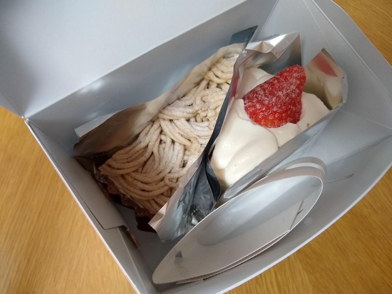 イーツホールのケーキテイクアウト