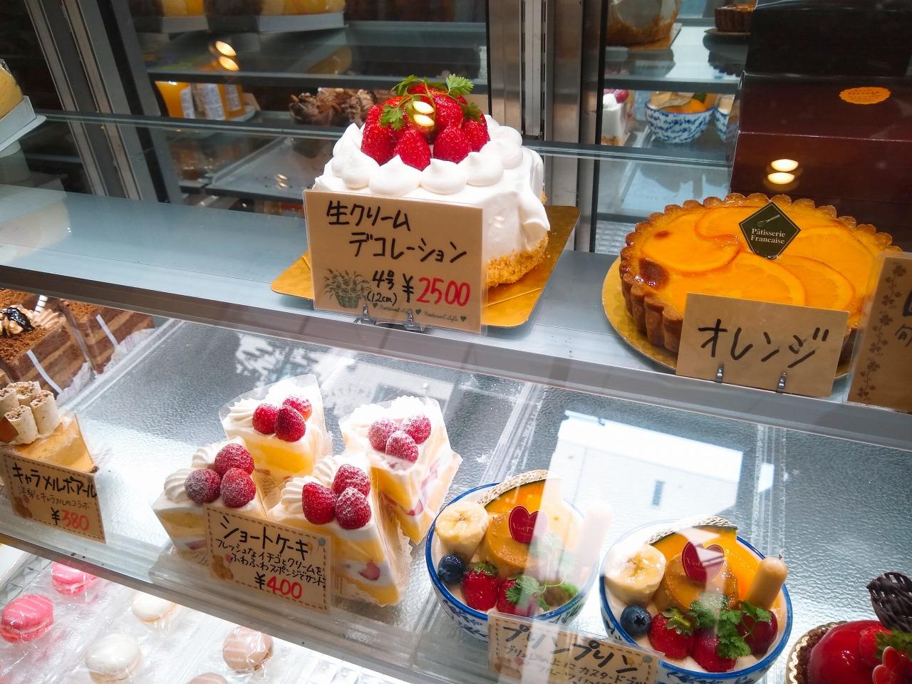 ヴェルプレのケーキ種類