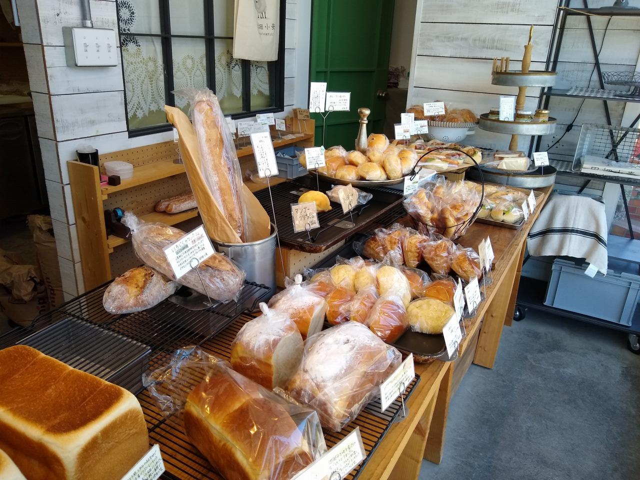 田畑小麦のパンメニュー