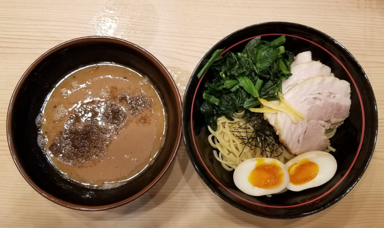 麺場寺井の新商品つけ麺