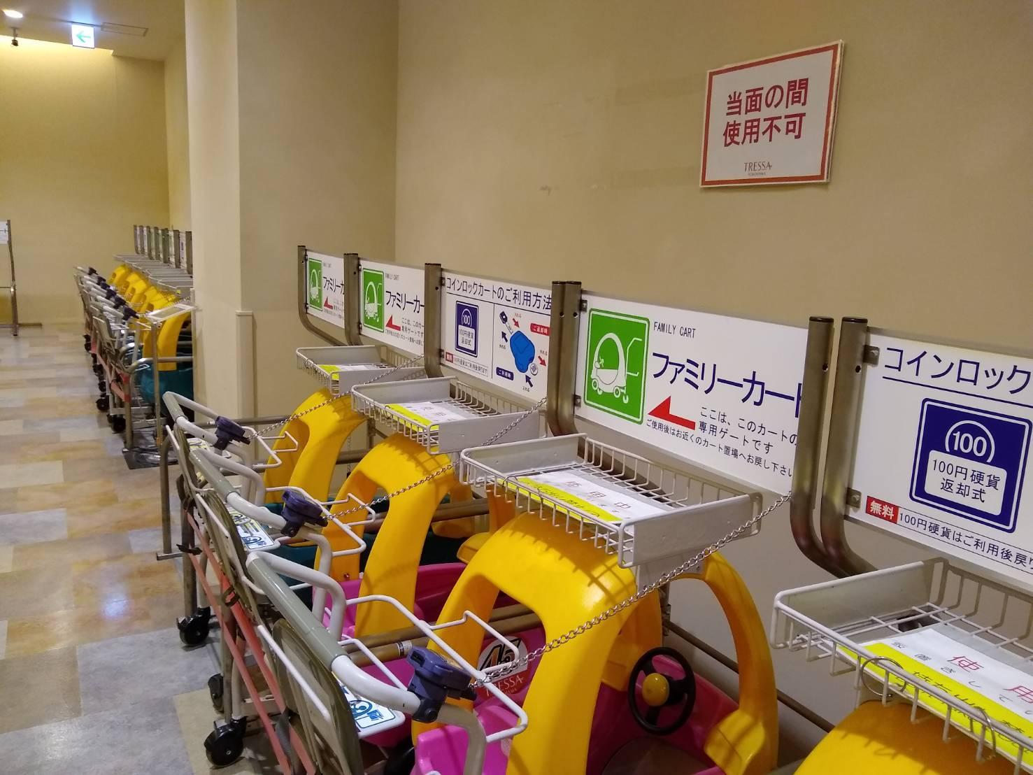 トレッサ横浜のカート