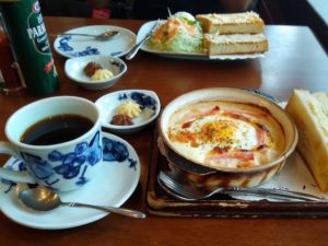 アデリータ|モーニングで美味なサンドイッチとコーヒーを堪能!
