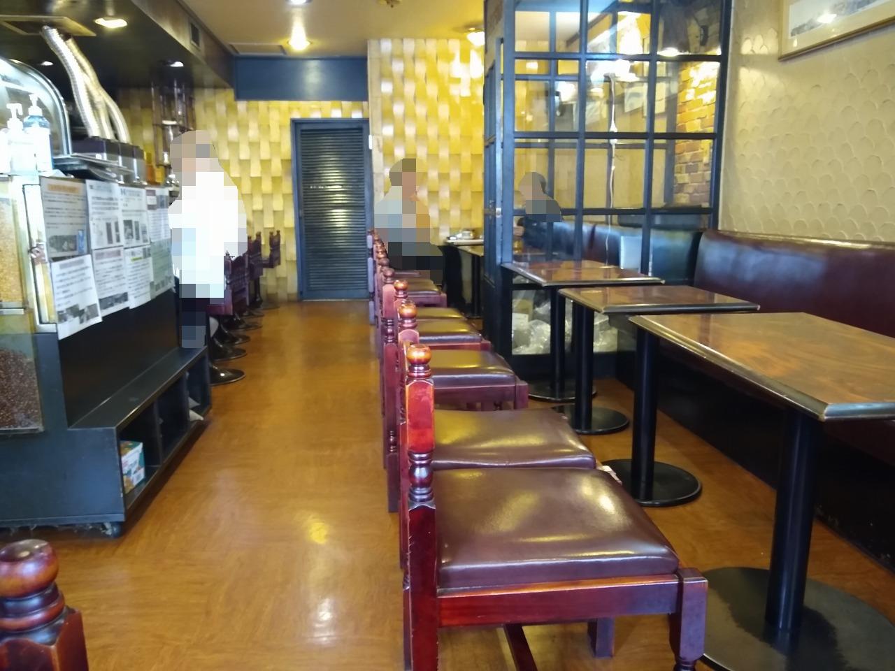 綱島の喫茶店カルディ