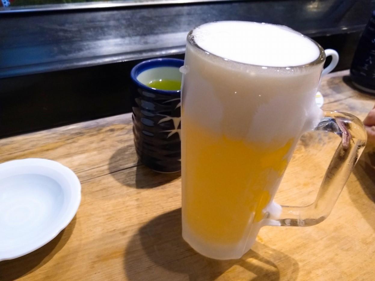 大黒鮨ランチビール