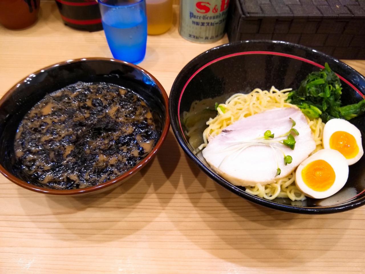 麺場寺井の202007つけ麺