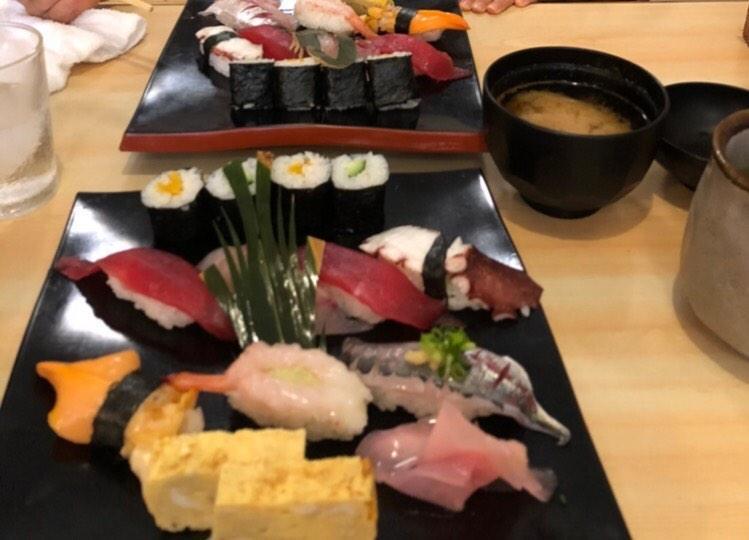栄寿司のランチ握り