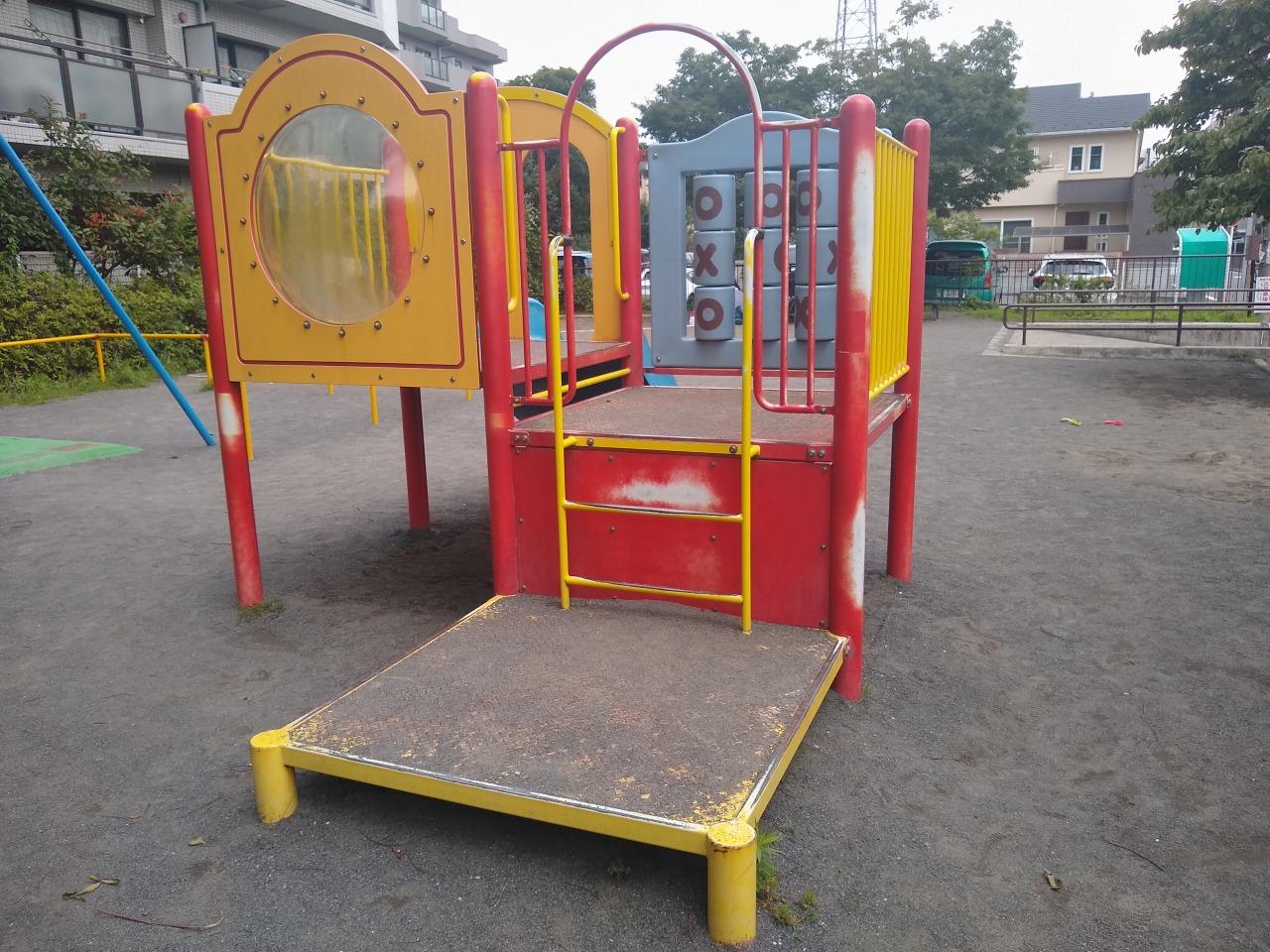 樽町一丁目公園複合遊具
