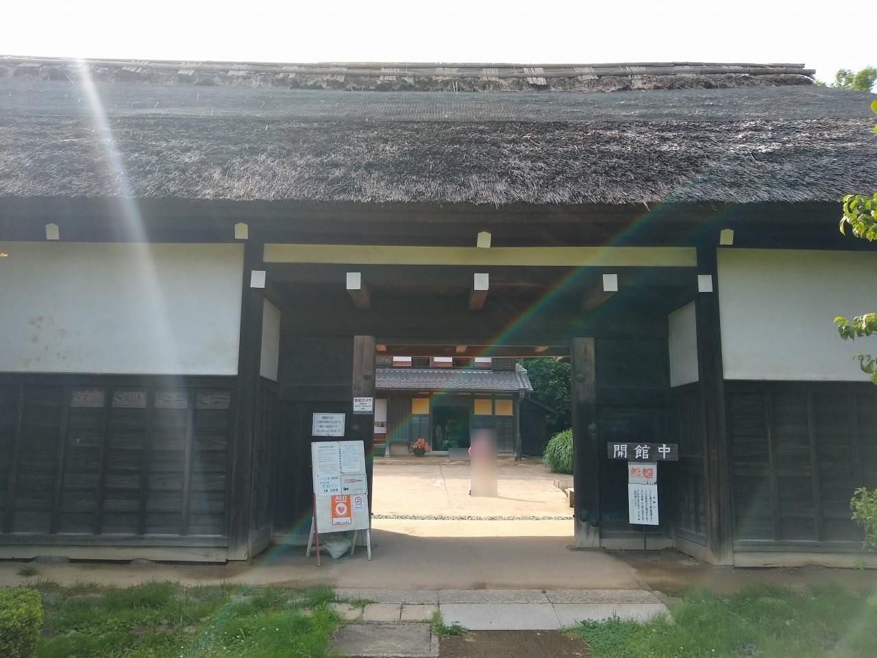 横溝屋敷入口