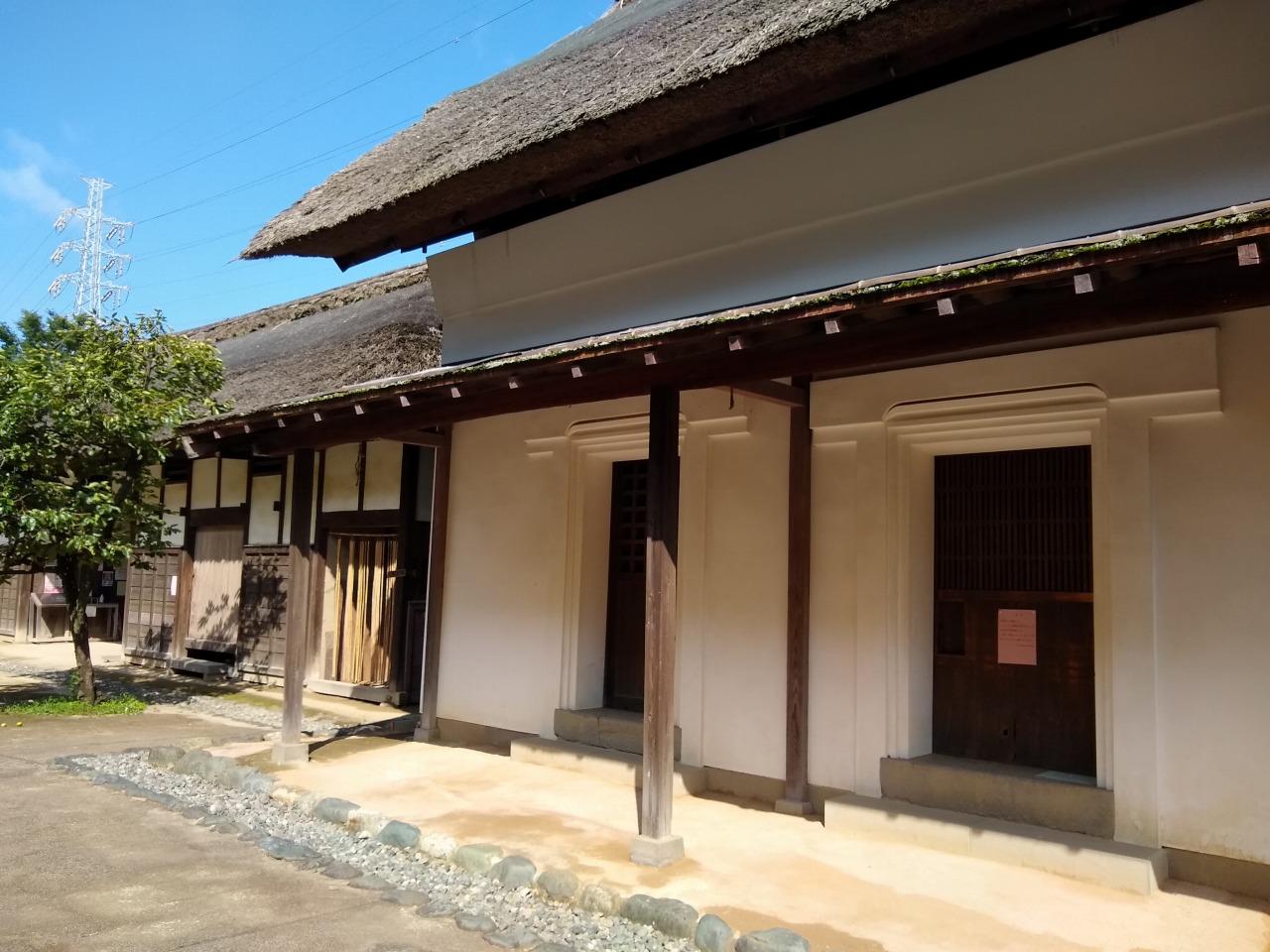 横溝屋敷の蔵