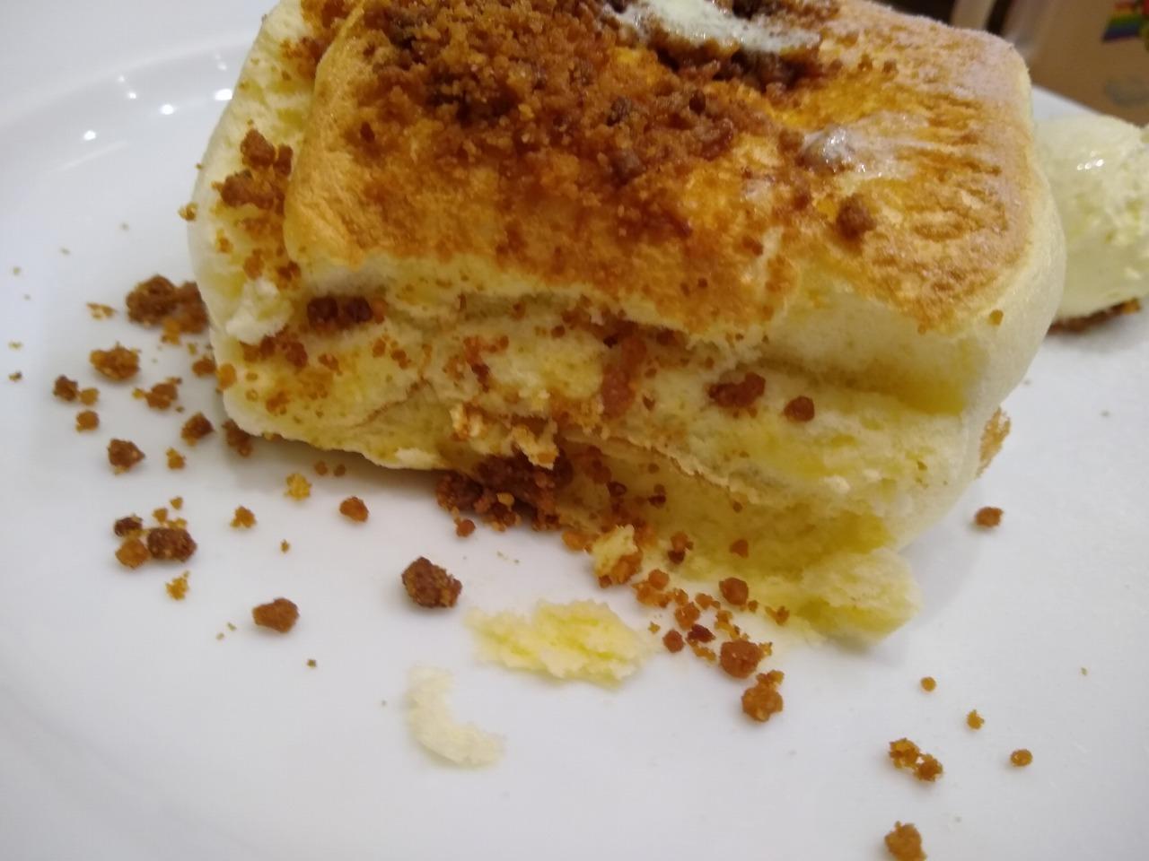 メレンゲのパンケーキ