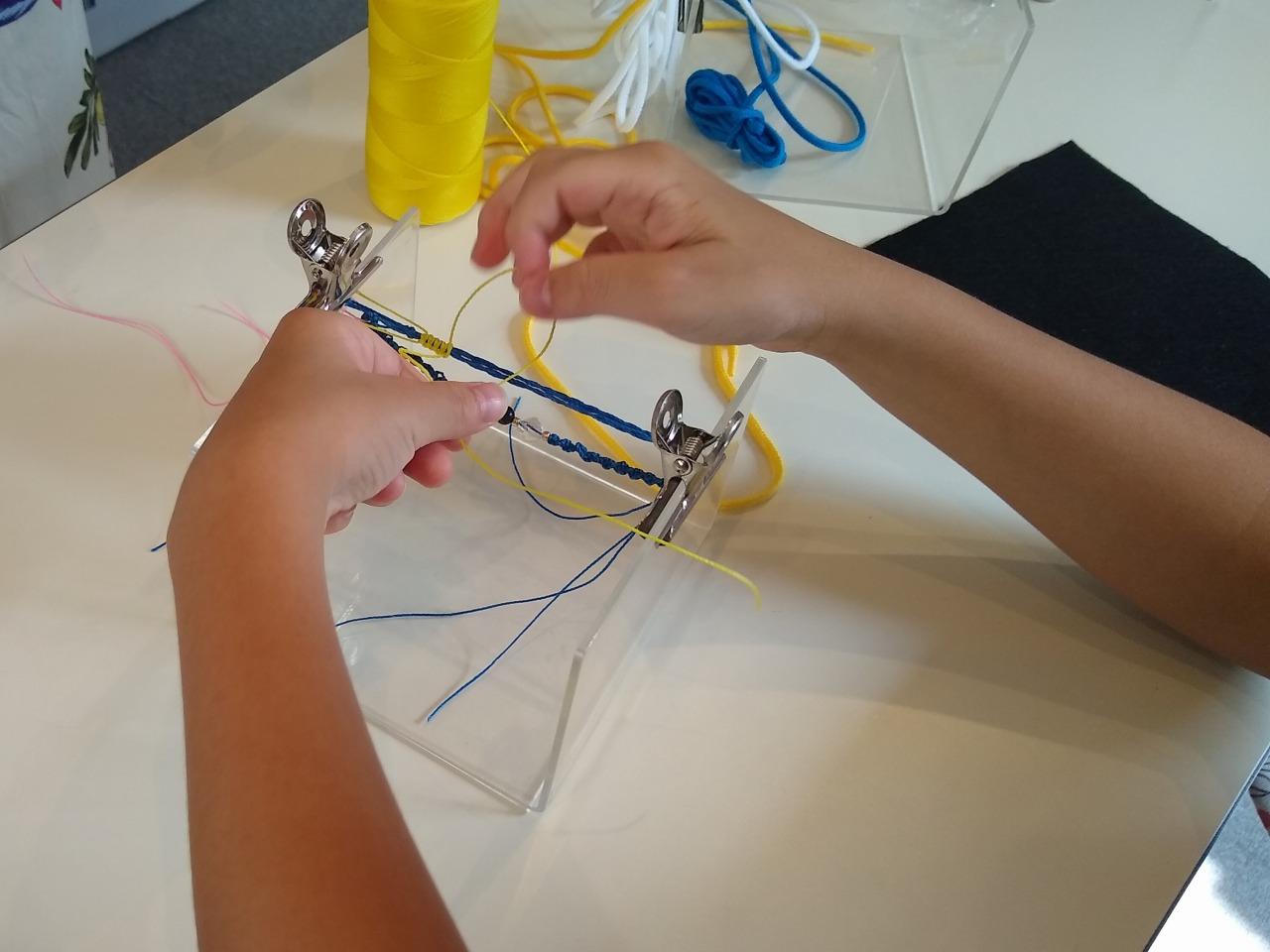 M工房マクラメ編み講座