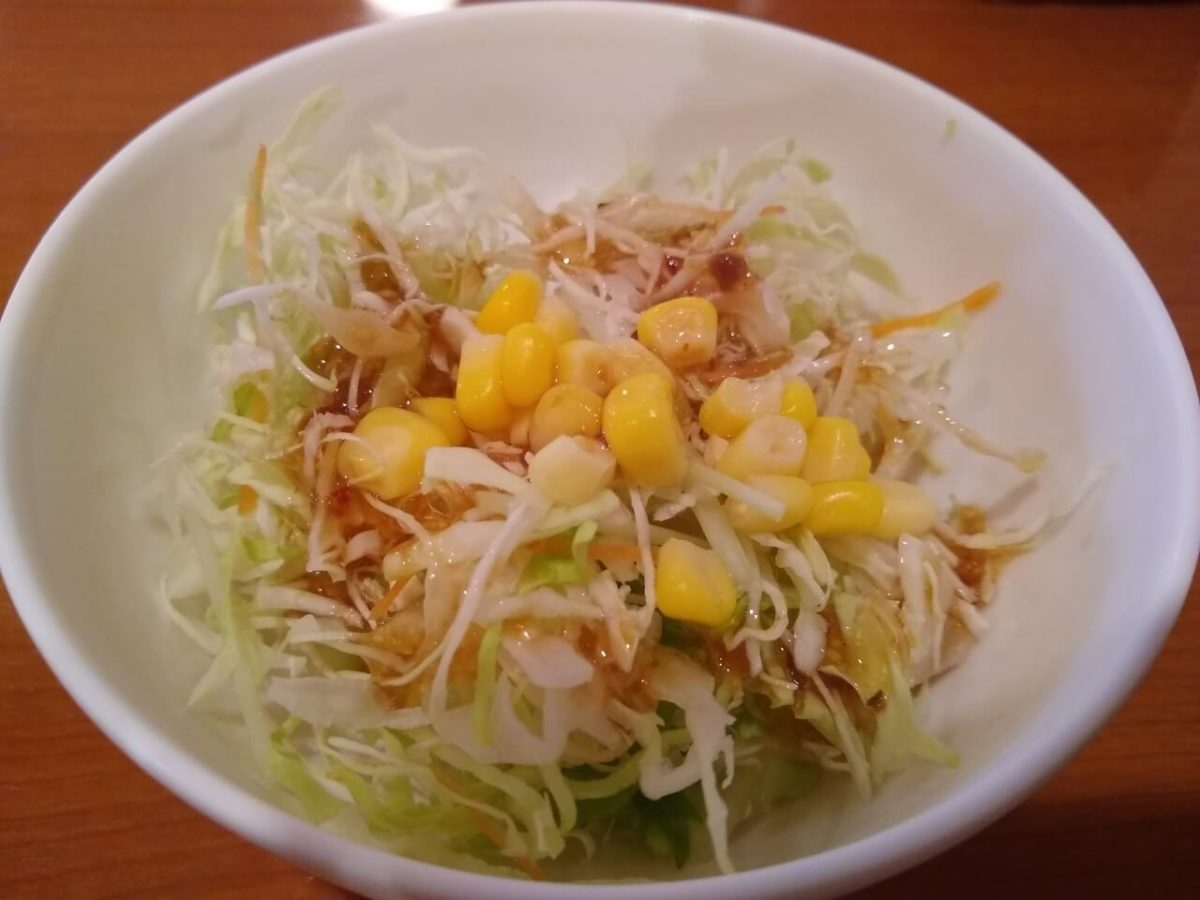 綱島カフェモカのランチサラダ