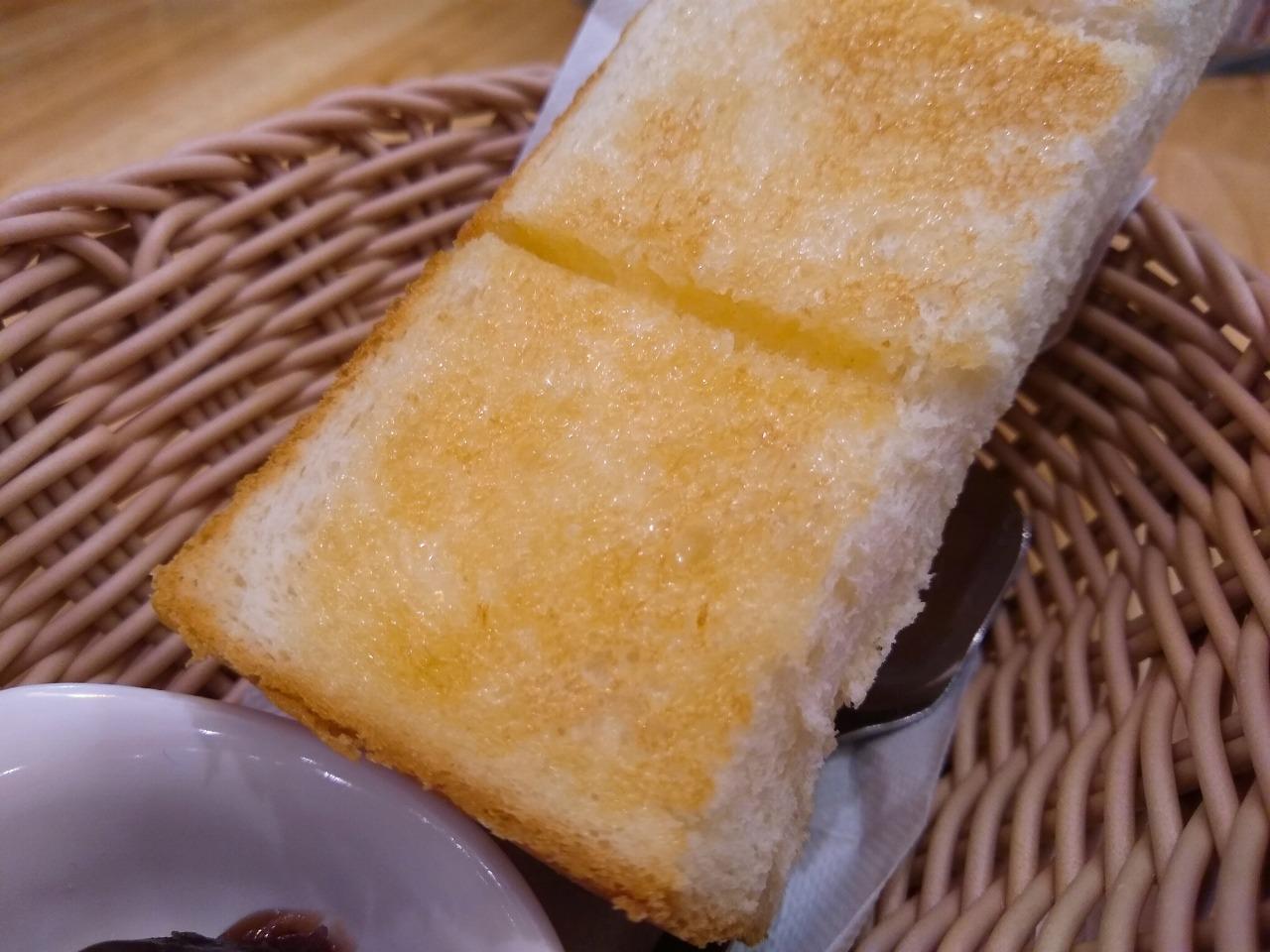 コメダ珈琲モーニングトースト