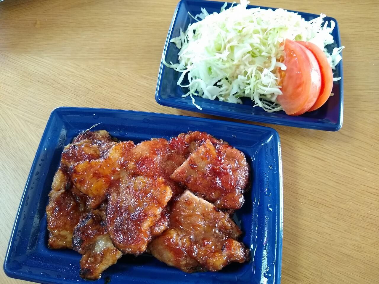 キッチンクラウド豚の生姜焼き