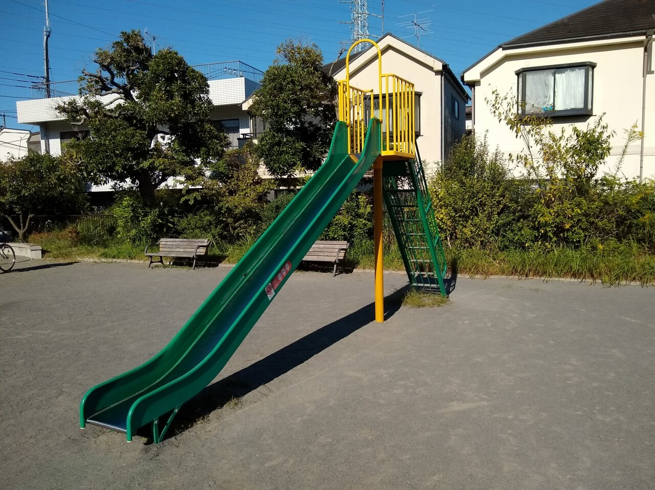 大曽根公園すべり台