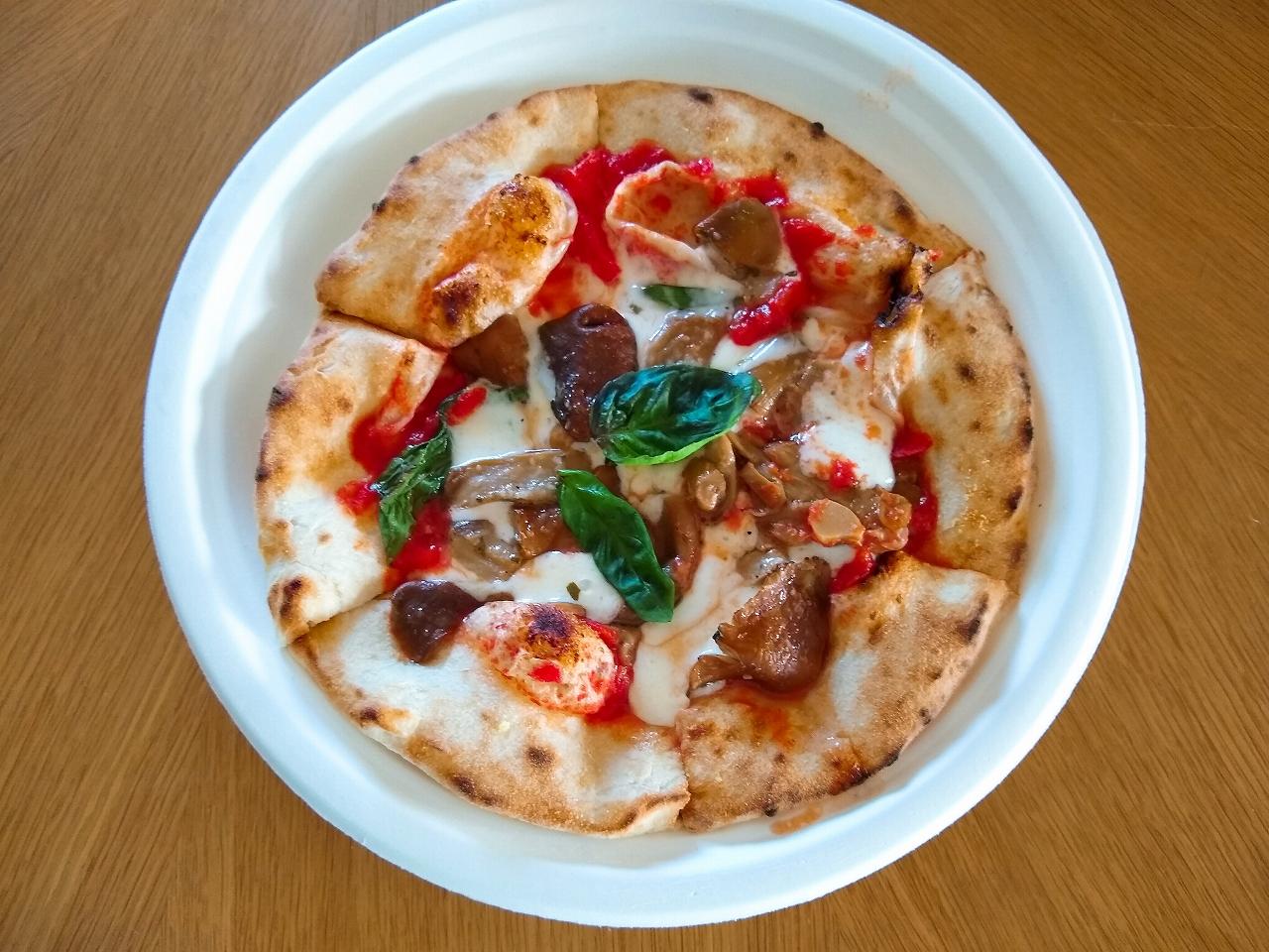 sassy2020秋の期間限定ピザ