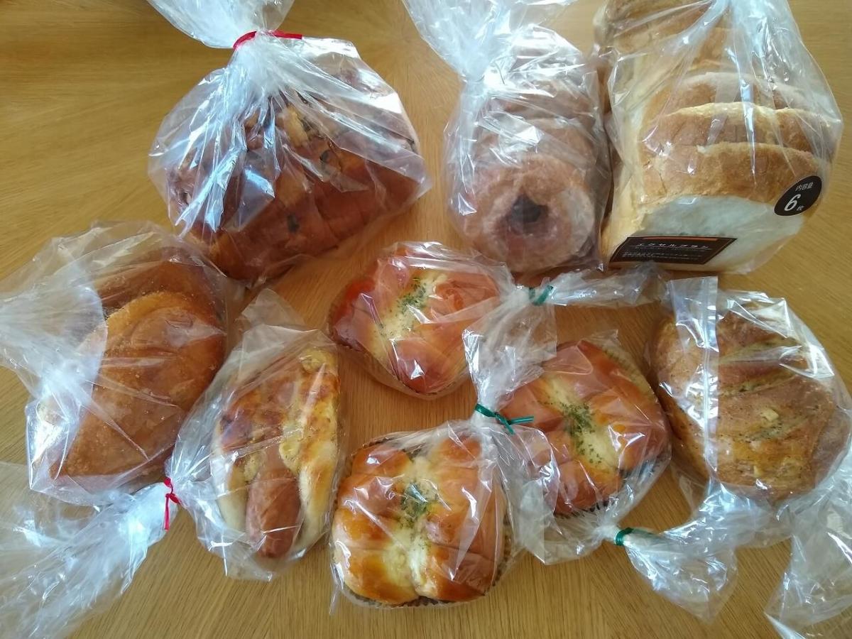 ブレッドボックス北新横浜店購入のパン